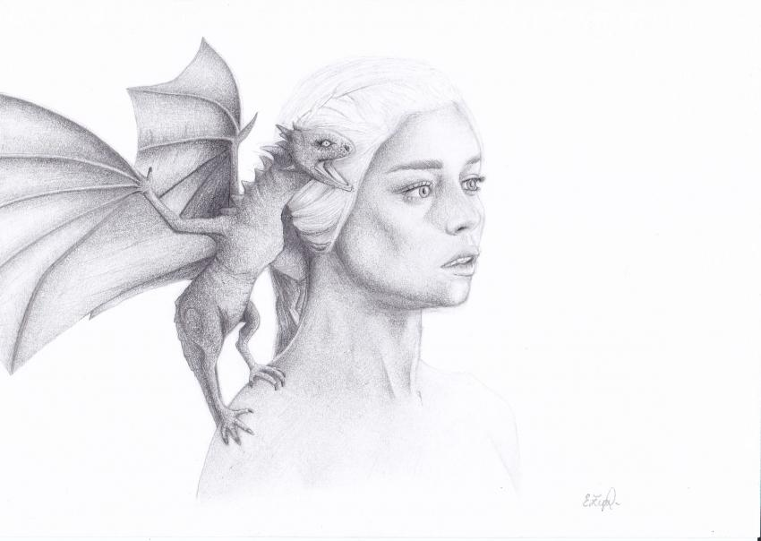 Emilia Clarke par Keira